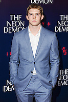 "Joe Alywn<br /> arrives for the premiere of ""The Neon Demon"" at the Picturehouse Central, London.<br /> <br /> <br /> ©Ash Knotek  D3125  30/05/2016"