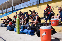 U17 Mens National Team training before the 2009 CONCACAF Under-17 Championship From April 21-May 2 in Tijuana, Mexico