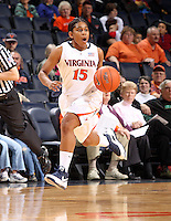UVa women's basketball player Ariana Moorer.