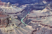 The Colorado River at the Grand Canyon.