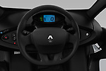 Car pictures of steering wheel view of a 2018 Renault Twizy Cargo 3 Door Hatchback