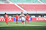 Iraq vs Oman during the 2014 AFC U19 Mens Championship group D match on October 10, 2014 at the Wunna Theikdi Stadium, in Naypyidaw, Myanmar. Photo by World Sport Group
