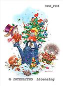 GIORDANO, CHRISTMAS ANIMALS, WEIHNACHTEN TIERE, NAVIDAD ANIMALES, paintings+++++,USGI2045,#XA#