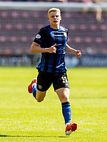 17th July 2021; Tynecastle Park, Edinburgh, Scotland;Pre Season Friendly Football, Heart of Midlothian versus Sunderland; Alex Cochrane of Hearts breaks forward