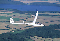 Deutschland, Schleswig- Holstein, Eta, Segelflugzeug, Hans Werner Grosse, HW, Ratzeburger See