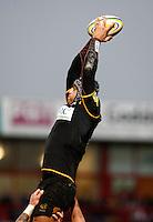 Photo: Richard Lane/Richard Lane Photography. Gloucester Rugby v London Wasps. Aviva Premiership. 26/12/2011. Wasps' Marco Wentzel.