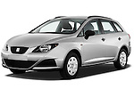 Front three quarter view of 2010 Seat Ibiza ST 5 Door Wagon Stock Photo