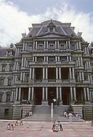 Washington D.C. :  Old State-Navy-War Dept. Building. Photo '85.