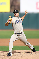 Steve Garrison - Peoria Saguaros, 2009 Arizona Fall League.Photo by:  Bill Mitchell/Four Seam Images..