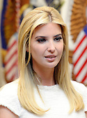 Ivanka Trump attends a listening session on domestic and international human trafficking in the Roosevelt Room of the White House on February 23, 2017 in Washington, DC. <br /> Credit: Olivier Douliery / Pool via CNP
