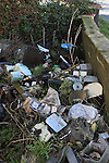 Rubbish Dumped at Old Mill Hotel in Julianstown