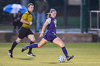 TCU midfielder Jill Finnerty (14) during NCAA soccer game, Friday, September 12, 2014 in San Marcos, Tex. TCU defeated Texas State 1-0. (Mo Khursheed/TFV Media via AP Images)