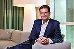 Netherlands, Amsterdam, 10-01-2013, <br /> FOTO: MICHAEL KOOREN<br /> KEES HOVING<br /> CEO DEUTSCHE BANK Nederland.