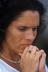 Debbie Owen wife of David Owen Politician 1980s England. Eats London UK
