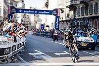 Romain Bardet (FRA/DSM)<br /> <br /> 104th Giro d'Italia 2021 (2.UWT)<br /> Stage 21 (final ITT) from Senago to Milan (30.3km)<br /> <br /> ©kramon