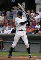 August 20, 2003:  Don Kelly of the Erie Seawolves, Class-AA affiliate of the Detroit Tigers, during a Eastern League game at Jerry Uht Park in Erie, PA.  Photo by:  Mike Janes/Four Seam Images