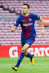 Sergio Busquets Burgos of FC Barcelona in action during the La Liga 2017-18 match between FC Barcelona and Las Palmas at Camp Nou on 01 October 2017 in Barcelona, Spain. (Photo by Vicens Gimenez / Power Sport Images