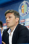 Getafe's General Manager Toni Munoz during his official presentation. July 6, 2015. (ALTERPHOTOS/Acero)