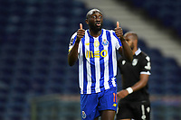 22nd April 2021; Dragao Stadium, Porto, Portugal; Portuguese Championship 2020/2021, FC Porto versus Vitoria de Guimaraes; Moussa Marega of FC Porto gives two thumbs up