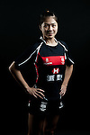 Hiu Yee Leung poses during the Hong Kong 7's Squads Portraits on 5 March 2012 at the King's Park Sport Ground in Hong Kong. Photo by Andy Jones / The Power of Sport Images for HKRFU