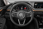 Car pictures of steering wheel view of a 2022 Acura MDX - 5 Door SUV Steering Wheel