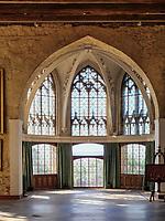 Rittersaal, Welfen  - Schloss Marienburg bei Pattensen, Niedersachsen, Deutschland, Europa<br /> knight's hall, Castle oft he Welfs near Pattensen , Lower Saxony, Germany, Europe
