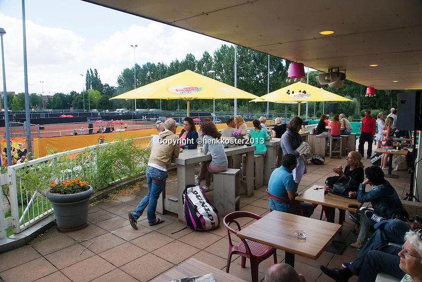08-08-13, Netherlands, Rotterdam,  TV Victoria, Tennis, NJK 2013, National Junior Tennis Championships 2013,  Atmosphere<br /> <br /> <br /> Photo: Henk Koster