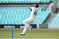 Kemar Roach of Surrey CCC during Surrey CCC vs Hampshire CCC, LV Insurance County Championship Group 2 Cricket at the Kia Oval on 1st May 2021