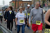 The 2021 Auggie's 5K walk/run, Warwood, WV October 9, 2021.
