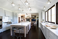 Country style white kitchen