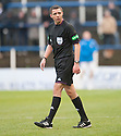 Referee Kevin Clancy.