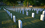 SALISBURY, NC 050521MB38—at the Salisbury National Cemetery in Salisbury, NC. <br /> Martin Begnal Republican American