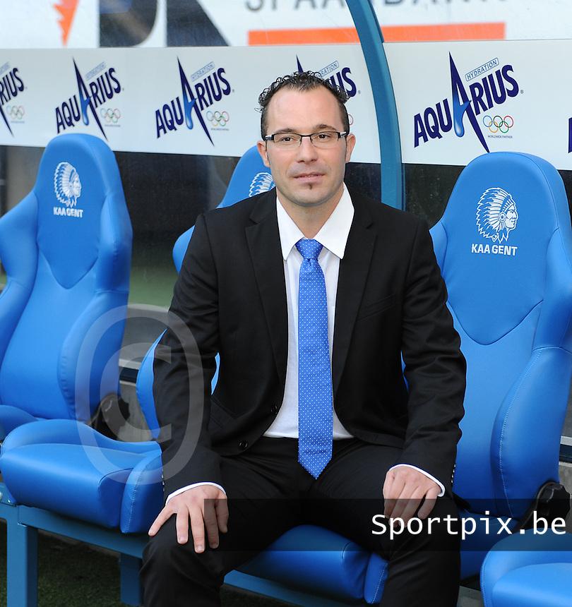 K AA Gent Ladies : Jimmy Segers<br /> foto Dirk Vuylsteke / nikonpro.be