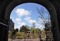 Nederland Leiden 2021.   De Hortus botanicus Leiden is de oudste botanische tuin van nederland. De Clusiustuin.  Foto mag alleen voor redactionele doeleinden worden gebruikt. Foto mag niet in negatieve context worden gepubliceerd.  Foto ANP / Berlinda van Dam