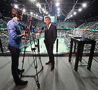 12-02-14, Netherlands,Rotterdam,Ahoy, ABNAMROWTT, <br /> Photo:Tennisimages/Henk Koster