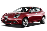 Front three quarter view of a 2010 - 2014 Alfa Romeo Giulietta 5 door hatchback.