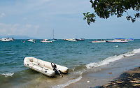 Boats in the harbor at Dili, Timor-Leste (East Timor)