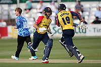 Ryan ten Doeschate and Michael Pepper add to the Essex total during Essex Eagles vs Sussex Sharks, Vitality Blast T20 Cricket at The Cloudfm County Ground on 15th June 2021