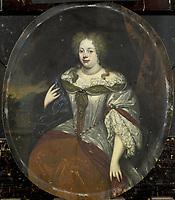 Portrait of Frouck, Barones van Aylva, Wife of Hans Willem van Aylva after 1658, H. de Valck, 1693 - 1717