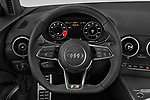 Car pictures of steering wheel view of a 2019 Audi TT-Coupe Base 2 Door Coupe