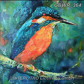 Simon, REALISTIC ANIMALS, REALISTISCHE TIERE, ANIMALES REALISTICOS, innovativ, paintings+++++SueGardner_Kingfisher,GBWR364,#a#, EVERYDAY