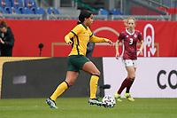 Mary Fowler (Australien, Australia) - 10.04.2021 Wiesbaden: Deutschland vs. Australien, BRITA Arena, Frauen, Freundschaftsspiel