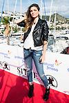 Italian actress Carlotta Morelli pose to the media at the photocall in the port at Festival de Cine Fantastico de Sitges in Barcelona. October 11, Spain. 2016. (ALTERPHOTOS/BorjaB.Hojas)