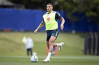 12th November 2020; Granja Comary, Teresopolis, Rio de Janeiro, Brazil; Qatar 2022 World Cup qualifiers; Diego Carlos of Brazil during training session