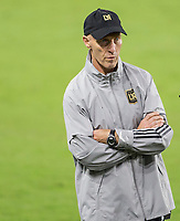 CARSON, CA - OCTOBER 28: Head coach Bob Bradley of the Los Angeles FC during a game between Houston Dynamo and Los Angeles FC at Banc of California Stadium on October 28, 2020 in Carson, California.