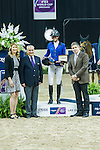 19 April 2015: Penelope Leprevost finished in second  in the 2015 Longines FEI World Cup Jumping Final.