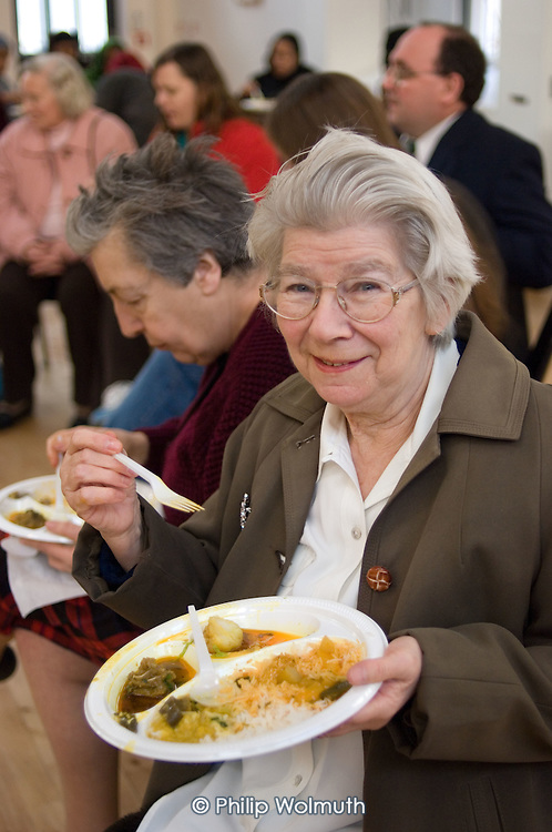 Cook and Eat event at Greenside Community Centre, Lisson Green Estate, Marylebone, London