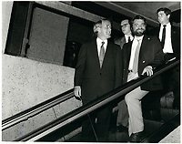 Brian Mulroney, le 4 septembre 1986<br /> <br /> <br /> PHOTO :  Agence Quebec Presse