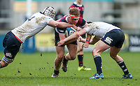 Tuesday 28th February 2017 | ULSTER SCHOOLS CUP SEMI-FINAL<br /> <br /> Matthew Borne during the Ulster Schools Cup Semi-Final between MCB and BRA at Kingspan Stadium, Ravenhill Park, Belfast, Northern Ireland. <br /> <br /> Photograph by John Dickson | www.dicksondigital.com