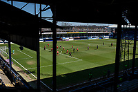 17th April 2021; Kenilworth Road, Luton, Bedfordshire, England; English Football League Championship Football, Luton Town versus Watford; A general view of the match from the main stand.  Strictly Editorial Use Only. No use with unauthorized audio, video, data, fixture lists, club/league logos or 'live' services. Online in-match use limited to 120 images, no video emulation. No use in betting, games or single club/league/player publications